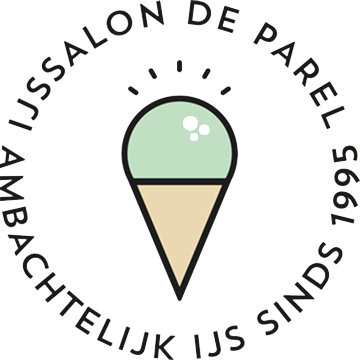 Logo IJssalon de Parel